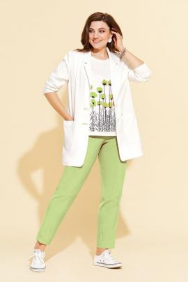 Женский костюм Милора-стиль 906 зеленый