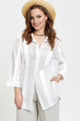 Блуза TEZA 2377 молочный