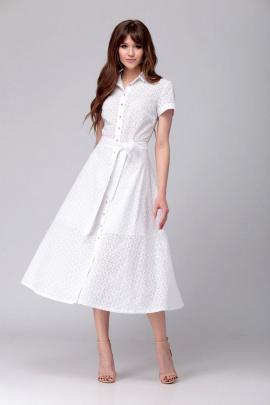 Платье AMORI 9528 молочный