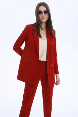 Жакет LaVeLa L30068 красный