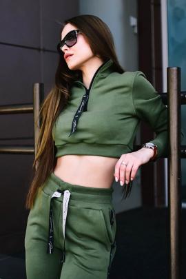 Свитшот Rawwwr clothing НЗ018-начес хаки