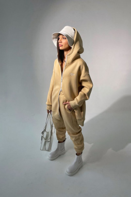 Брюки Rawwwr clothing 213 бежевый