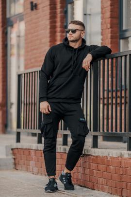Брюки Rawwwr clothing 185-начес черный