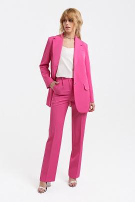 Женский костюм PiRS 3129 розовый-молочный