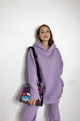 Худи Rawwwr clothing 083-начес лиловый