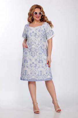 Платье LaKona 1375 голубой