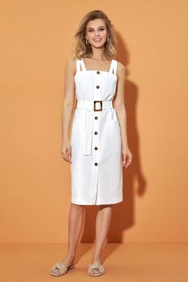 Платье DiLiaFashion 0479 белый