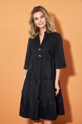 Платье DiLiaFashion 0484 черный