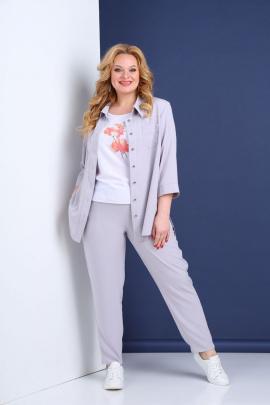 Женский костюм Tensi 308 светло-серый