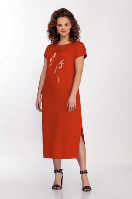 Платье Dilana VIP 1715 красный