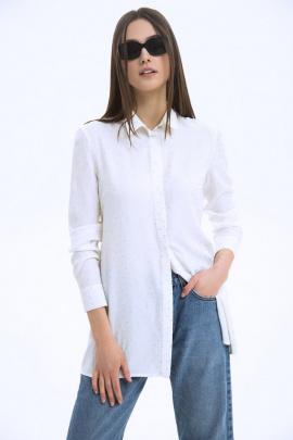 Рубашка LaVeLa L50056 молочный