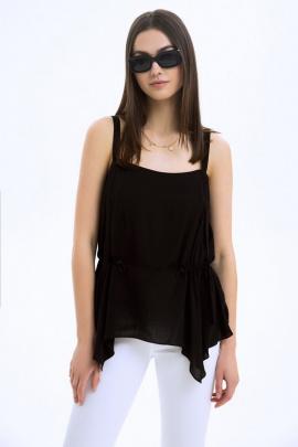 Блуза LaVeLa L50083 черный