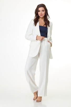 Женский костюм Anelli 1039 белый