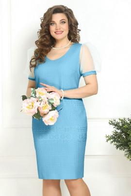 Платье Solomeya Lux 818 голубой