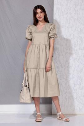 Платье Beautiful&Free 4053 беж