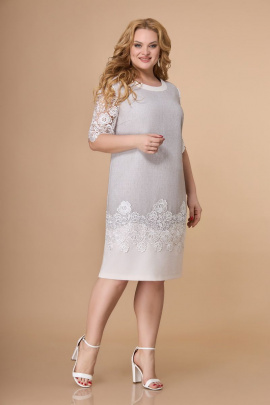Платье Svetlana-Style 1382 серый