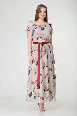 Платье GALEREJA 526 беж