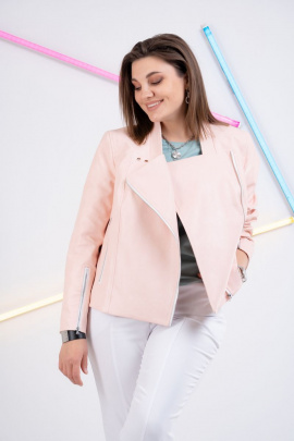 Куртка GRATTO 7113 нежно-розовый