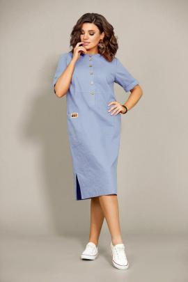 Платье Mubliz 435 голубой