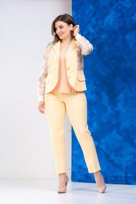 Женский костюм Anastasia 544 желтый