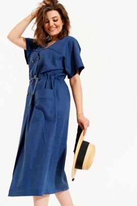 Платье ELLETTO 1835 синий
