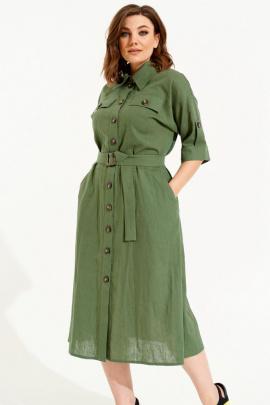 Платье ELLETTO 1839 зеленый