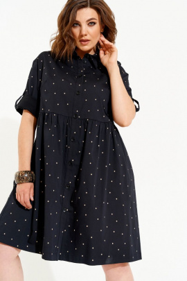 Платье ELLETTO LIFE 1812 черный