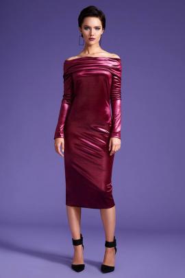 Платье LaVeLa L1703 бордо