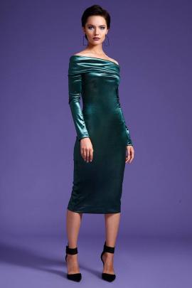 Платье LaVeLa L1703 изумрудный