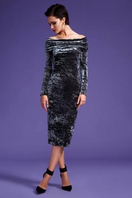 Платье LaVeLa L1703 серый