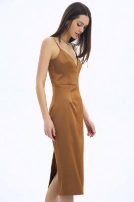 Платье LaVeLa L10242 рыжий
