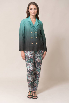 Жакет Ружана 435-1 зеленый