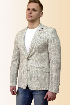 Пиджак DOMINION 4430D 8C34-P49 188 светло-серый