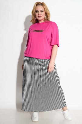 Блуза, Юбка Michel chic 1231 розовый