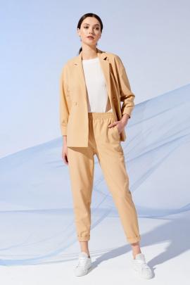 Женский костюм Prestige 4091/170 жёлтый