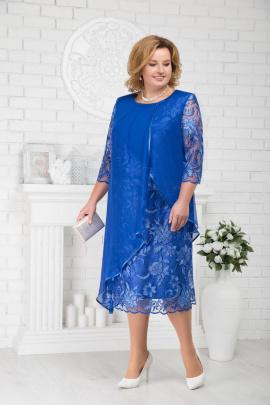 Платье Ninele 5672 василек