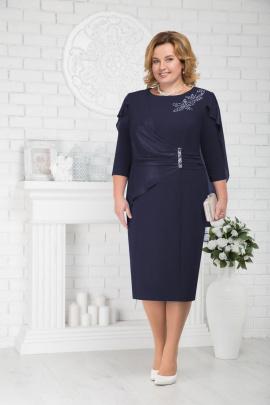 Платье Ninele 5675 синий