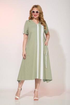 Платье Liliana 967 оливковый