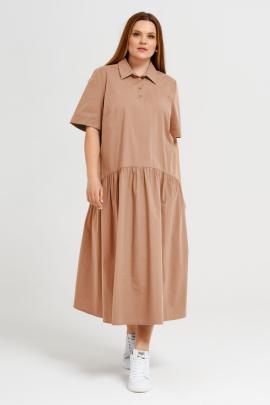 Платье Панда 41980z бежевый