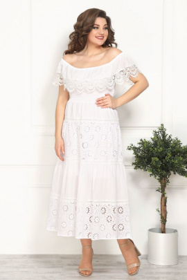 Платье Solomeya Lux 812 белый