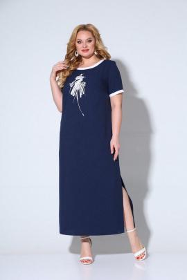 Платье Ксения Стиль 1898 темно-синий