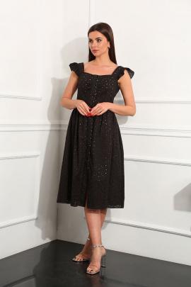 Платье Andrea Fashion AF-147/6 чёрный
