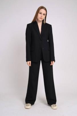 Женский костюм TSURAN KOST-DELOV-IT-BL1.170-176 черный