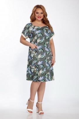 Платье LaKona 1375 хаки