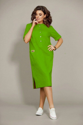 Платье Mubliz 435 зеленый