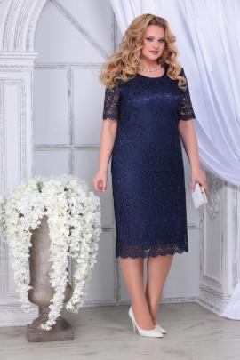 Платье Ninele 2296 синий