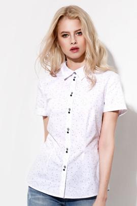 Блуза Prio 719940p бело-черный