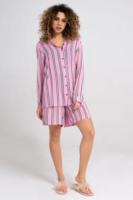 Блуза, Шорты Панда 29520z розовый