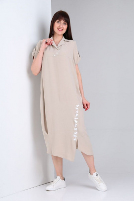 Платье VIA-Mod 439А бежевый