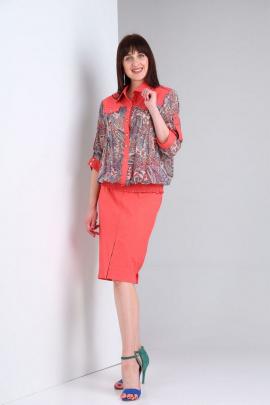Блуза, Юбка VIA-Mod 467